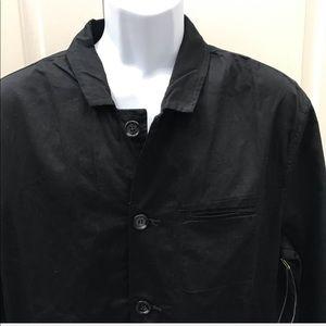 NEW wTag-PAPER DENIM & CLOTH Black Button Jacket L
